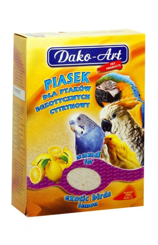 piasek cytrynowy kartonik