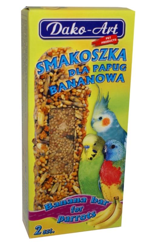 smakoszka bananowa papuga