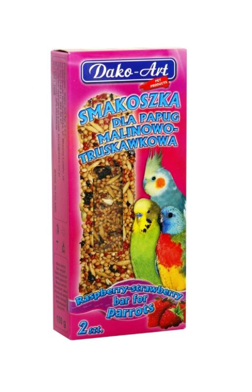 smakoszka malinowo trusjawkowa papuga