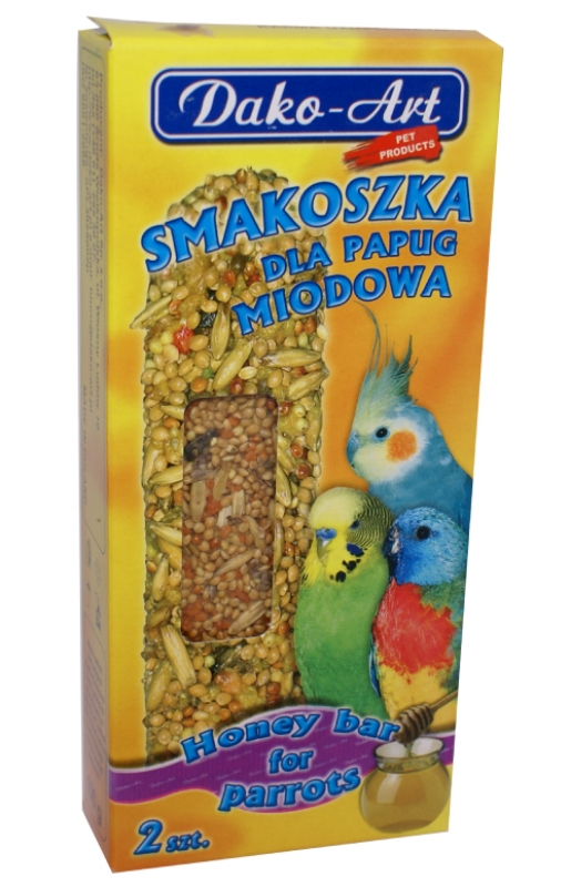 smakoszka miodowa papuga