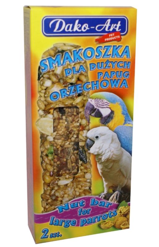 smakoszka orzechowa duza papuga
