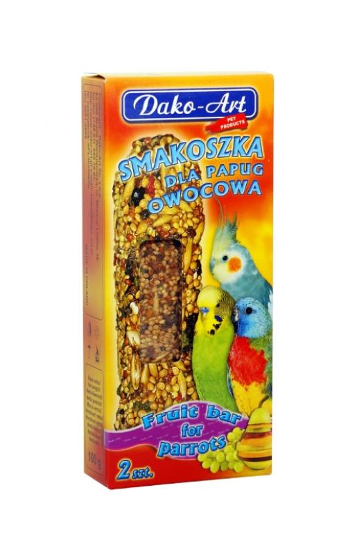 smakoszka owocowa papuga