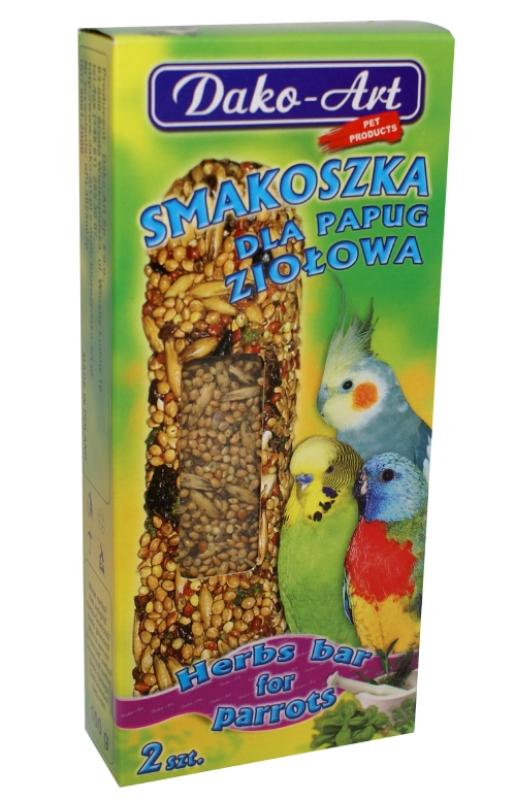 smakoszka ziolowa papuga