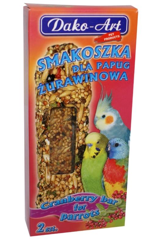 smakoszka zurawinowa papuga
