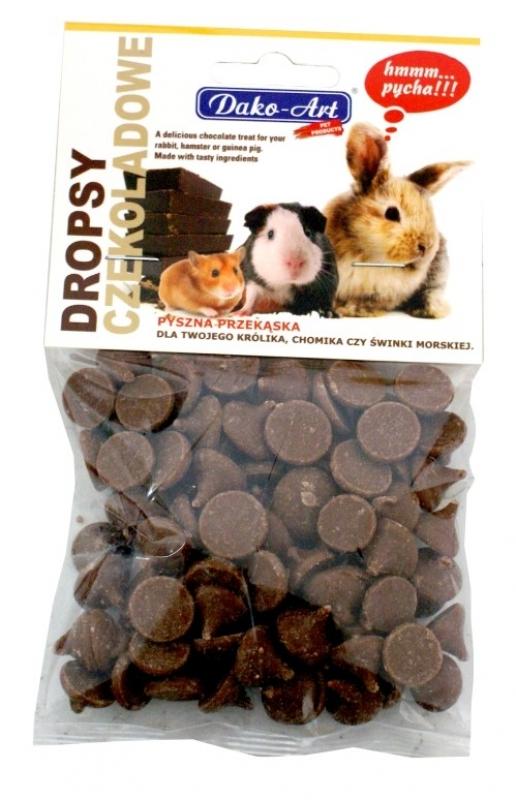 dropsy czekoladowe kartonik